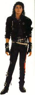 WOW Michael Jackson Bad Dirty Diana Arm Braces Black