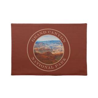 Grand Canyon National Park AZ Landscape Souvenir Placemat