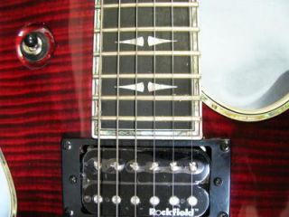 Michael Kelly Patriot Premium Guitar Red B w Light Armored Case Sale