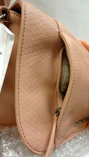 Authentic Michael Kors Bowen Convertible Python Leather Shoulder Bag