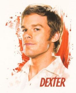 Dexter TV Show Girl Shirt Michael C Hall T Shirt Brand New