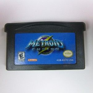 Metroid Fusion Nintendo Game Boy Advance 2002 Classic Cartridge Only