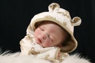 Reborn Danielle Michael Lifelike Fake Baby Boy Doll NR