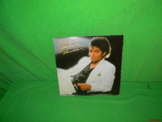 Vintage Michael Jackson Thriller LP Record Album