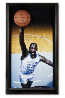 MICHAEL JORDAN Hand Signed UNC Basketball Breakthrough Lithograph