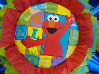 Pinata Elmo Birthday Party Mexican Craft for Candy