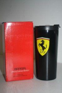 Ferrari Thermal Mug Black Official Merchandise Coffee