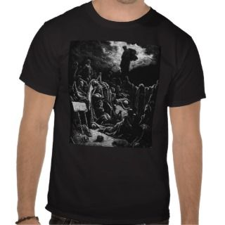 Bible Ezekiels Resurrection   Gustave Dore Tshirt