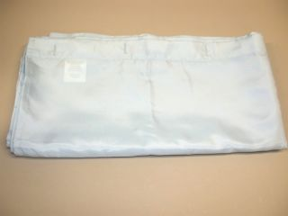 Fabric Shower Curtain Clear Blue New