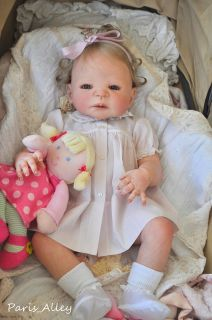 Full Body Reborn Victoria by Sheila Michael OOAK Baby Girl Doll