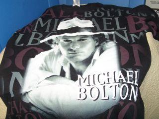 Michael Bolton 1996 Concert Tour Toronto T Shirt LG New
