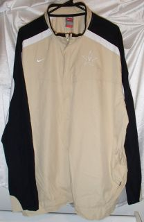 Vanderbilt Commodores Nike Storm Dri Fit Windbreaker Jacket Mens Sz