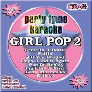Party Tyme Karaoke Girl Pop 2 Brand New CD