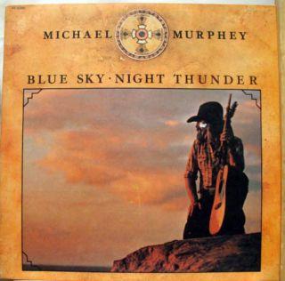Michael Murphey Blue Sky Night Thunder LP VG Ke 33290 Vinyl 1975