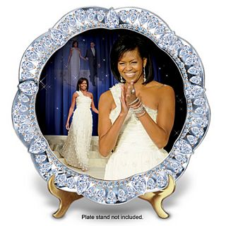 Michelle Obama Inaugural Events Plate Collector Plate