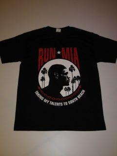 Run MIA 2 Black The Freshnes Shirt Tee Lebron King James Miami Heat