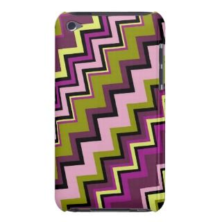 Funky Zig Zag Pattern Barely There iPod Case