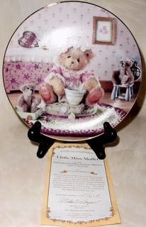 Cherished Teddies Little Miss Muffet Collectible Plate