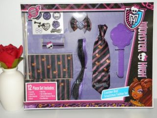 New Monster High Clawdeen Wolf Growlicious 12 Piece Fashion Set Dress