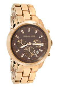 Michael Kors MK5415 Classic Chronograph Rose Gold Women Watch New
