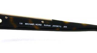 New Michael Kors Sunglasses MK 674 Havana Sullivan 206