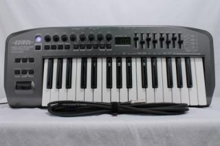 PCR M30 MIDI Keyboard Controller Power Supply and 2 MIDI Cords