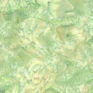 Hoffman Bali Batik 1895 Solid Pesto Sage Green Fabric