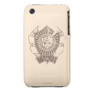 Autobot Distressed Badge iPhone 3 Case Mate Case