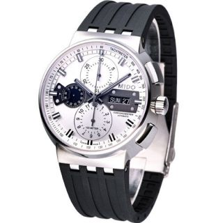 Mido All Dial Mechanical Automatic Chronometer Swiss Watch White