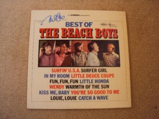 The Beach Boys Mike Love Signed LP Record w COA