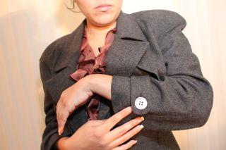 Michael Kors 2 PC Women Vtg Pant Jacket Wool Suit Sz 8