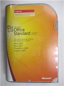 Microsoft Office Standard 2007 Upgrade Retail Box Full Version SKU 021