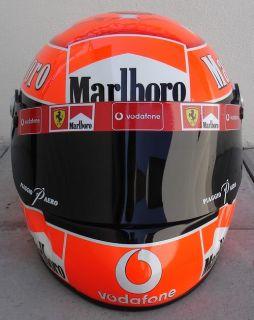 Michael Schumacher 2002 World Replica Helmet 1 1 Scale