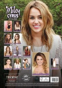 Miley Cyrus 2013 UK Wall Calendar Brand New and Factory SEALED RS