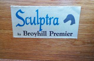 Mid Century Modern Broyhill Sculptra Nine Drawer Dresser Eames Era
