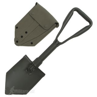 US Army Strong Entrenching Tool Folding Shovel Cover Military Camping