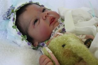 Incredababies Reborn Baby Girl Doll Michelle by Evelina Wosnjuk