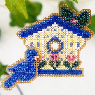 Paradise Beaded Cross Stitch Kit Mill Hill 2002 Spring Bouquet