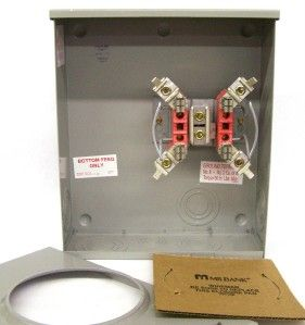 Milbank 200A U G 1 Ph Alliant Approved Meter Socket New