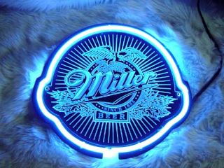 Miller Lite Beer Bar Neon Light Sign SD083