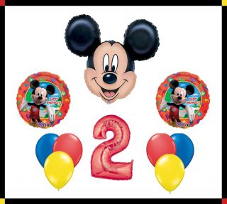 Disney Mickey Mouse Clubhouse 2 Happy Birthday Balloon Set Party
