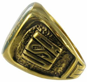 Made in The USA Ring Mens US Army 14k GP Crest Sz 13