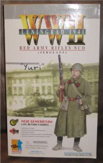 Dragon WWII Yuri Red Army Rifles NCO 12 Figure 1 6