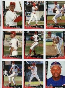 2000 Lansing Lugnuts Michael Dzurilla Mike Bayside NY St JohnS