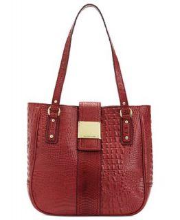 Franco Sarto Handbag, Croc Leather Kidman Tote