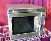Amana RC 1700 Watt Heavy Duty Commercial Microwave Oven NSF Stainless