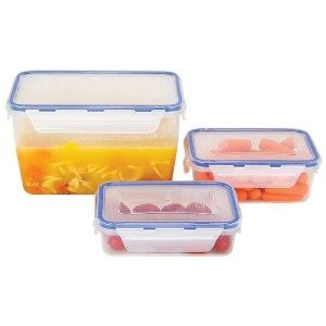 Locking Food Storage Containers Microwave and Dishwasher Safe