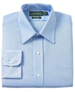 Polo Ralph Lauren Dress Shirt, Blue English Poplin   Mens Dress Shirts