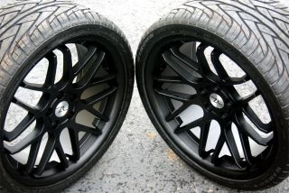 Concave Mustang Wheels 20x8.5 & 20x10 & tires 2005 2013 Rims 20 inch