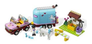 Lego Friends 3186 Emmas Horse Trailer Girls Emmas New SEALED Box Toy